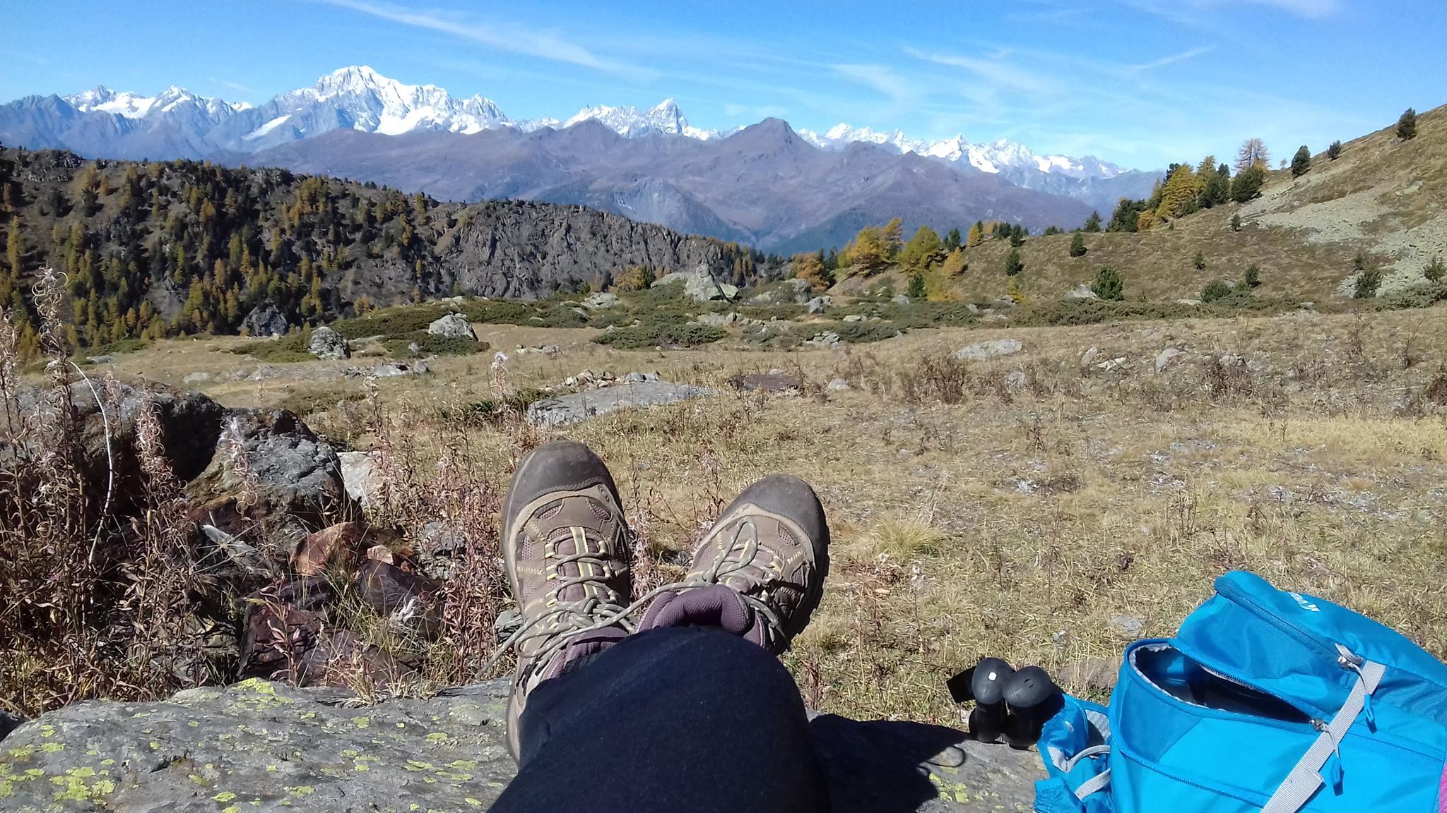 Yoga und Wandern im Aosta-Tal (Italien) - mit Ilaria